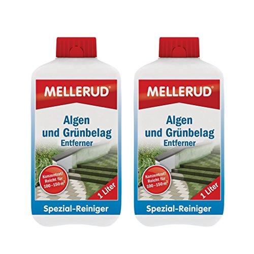 2X Mellerud Algen und Grünbelag Entferner (1Liter)