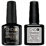 Cnd Shellac Xpress5 + Base 7.3Ml Esmalte en Gel - 7.3 ml