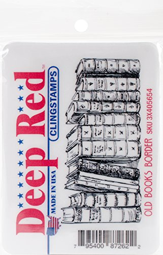 Deep Red Stamps–Sello, 8.12x 11.68X 0,83cm