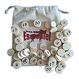 Das Stuhrer Eselspiel XXL mit 121 Spielsteine und 6 Stapel ~ Familienspiel, Partyspiel, Lernspiel, Legespiel bis 10 Personen