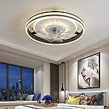 WENY - Ventilador de techo regulable con mando a distancia, velocidad del viento, ajustable, para dormitorio, oficina, restaurante, salón, plafón, ventilador en lámparas