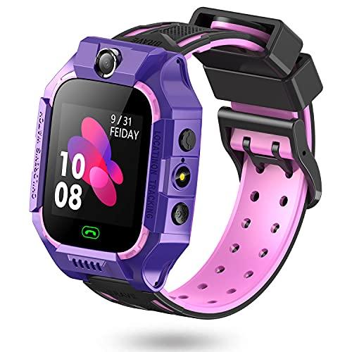 Reloj Inteligente para Niños con 8 Juegos, Smartwatch Niño SOS Phone Video Cámara Alarma MP3 Musical Linterna 3-12 Años niño niña y niños…