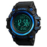 Watch Compass, Altimeter Barometer Thermometer Temperature, Pedometer Watch,...