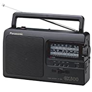 4-Band Portable Radio FM/AM/LW/SW Analogue Tuner Sound Mode Switch Mains or Battery Operation