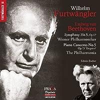Beethoven: Piano Concerto No.5, Symphony No.5 by Wilhelm Furtw盲ngler