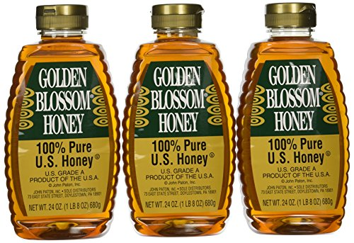 Golden Blossom Honey 24 Oz 3 Pack