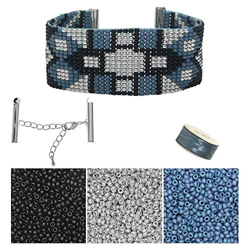 Beadaholique Refill - Glacier Park Loom Bracelet - Exclusive Jewelry Kit