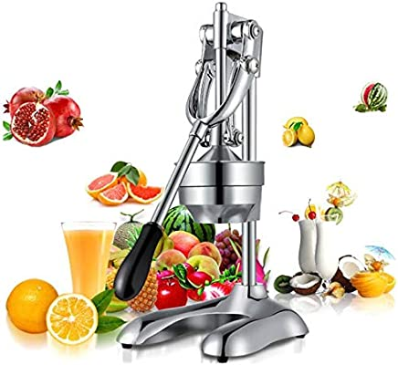 WTYD Kitchen Appliance Stainless Steel Manual Juicer Squeezer Citrus Fruit Juice Extractor(China) Kitchen Tool (Color : China)