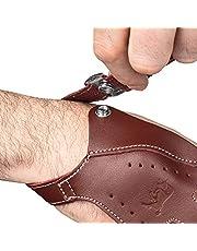 est Traditional Desert - Guante de tiro de piel suave para tiro de arco