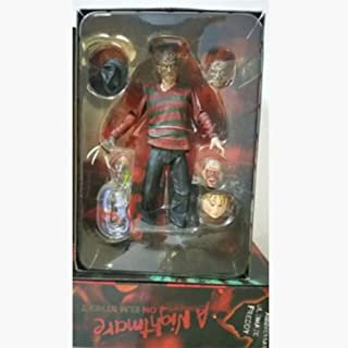 """Ocamo Friday the 13th - 7"""" Scale Action Figure - Ultimate Part 5 Jason Voorhees 3rd generation Freddy for Hallows All Saints' Day"""
