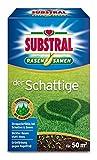 Substral Rasensamen Der Schattige- Schattenrasen - Einzigartige Premium Rasensamen-Mischung für schattige Stellen mit echtem Waldgras - 1 kg für 50 m²