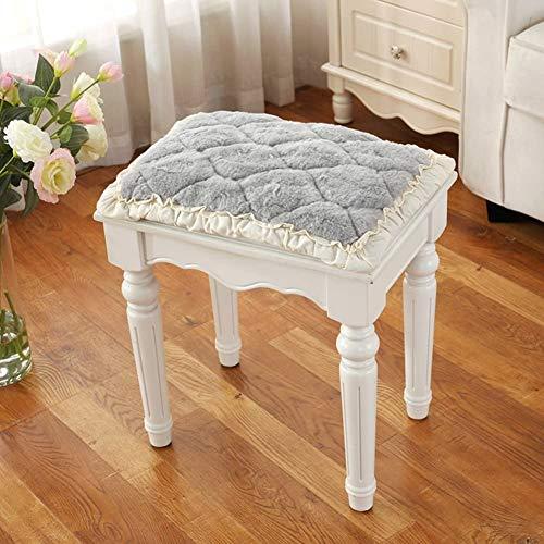 Cojines para el cojín de la silla para el hogar con la cubierta del relleno del protector de asiento de la pinza de la parte inferior de la oficina para la oficina, el comedor, la silla de madera de l
