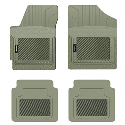 PantsSaver Custom Fit Automotive Floor Mats for Mercedes Benz EQC 400 2020 All Weather Protection for Cars, Trucks, SUV, Van, Heavy Duty Total Protection Gray