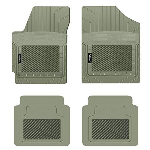 Koolatron Pants Saver Custom Fit 4 Piece All Weather Car Mat for Select Mazda 3 Models (Grey)