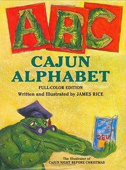 Cajun Alphabet colorized  Gaston Series