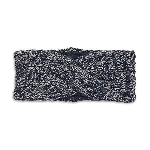 Sterntaler Twist Strick-Stirnband für Mädchen, Alter: 4-7 Jahre, Größe: 55/57, Blau (Marine)