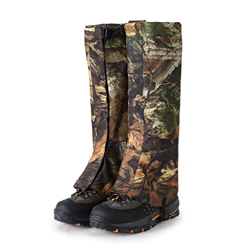 MagiDeal Polainas Legging Cubierta Funda para Zapatos Botas Anti Nieve Impermeable para Actividad al Aire Libre