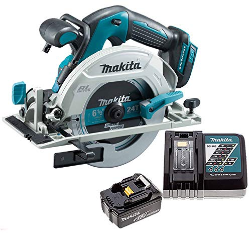 Makita DHS680Z 18V Brushless Circular Saw with 1 x 5.0Ah Battery & Charger