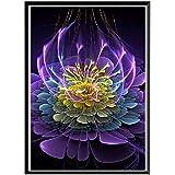 Xevkkf 5D Diamond Painting Kit Bricolaje_Mandala 40X50Cm_Bordado De Cristales para Punto De Cruz,Lienzo para Decoración De Pared con Diamantes De Imitación