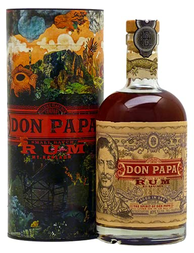 Don Papa   Small Batch Rum   0,7l. Flasche in Tube