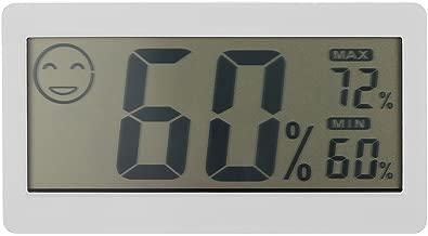 Misuratore digitale della temperatura umidità casa ufficio MINI IN VETRO TERRARIO Igrometro