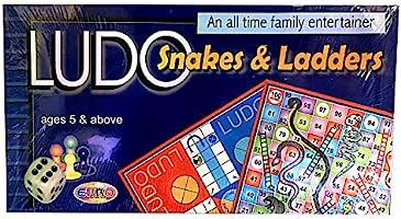لعبة اللودو والسلم والثعبان من يورو