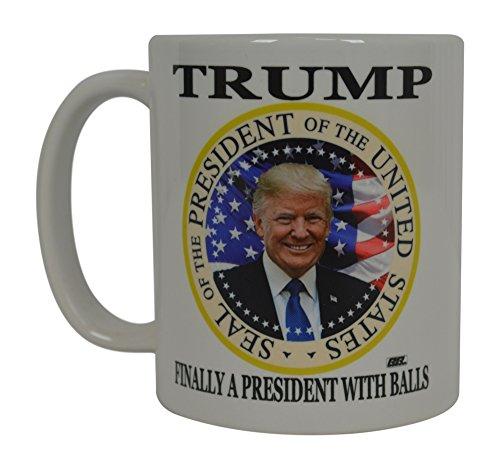 Donald Trump Kaffeetasse mit Aufschrift