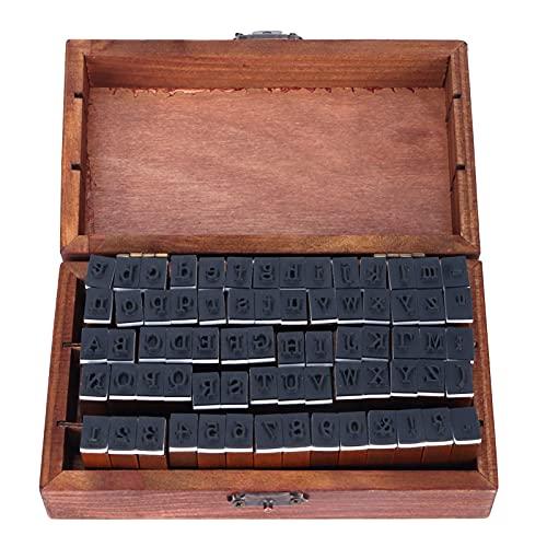 Tampon alphabet, tampon de Scrapbooking écologique 70 pièces/ensemble cadeau exquis pour Pâques pour anniversaire pour Thanksgiving pour Noël