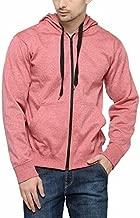 AWG Men's Red Melange Grindle Sweatshirt with Zip