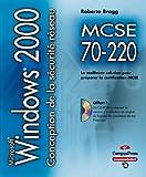 MCSE 70-220 conception de la sécurité pour un réseau Microsoft Windows 2000 CD-ROM