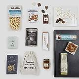 Cesta de comida navideña gourmet – Cestas de Navidad de lujo y canastos de regalo de comida – Ideas de regalo como cumpleaños y regalos de agradecimiento - 4