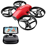 Potensic Drone avec caméra A30W Avion avec télécommande Drone avec WiFi caméra...