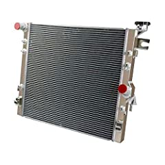★ ALL ALUMINUM RADIATOR! - The OzCoolingParts Radiator is made of full T-6061 aluminum construction, all item is 100% inspected and tested for quality assurance. ★ EXTRA HIGH COOLING CAPACITY! - High performance racing design, improves cooling by 35 ...