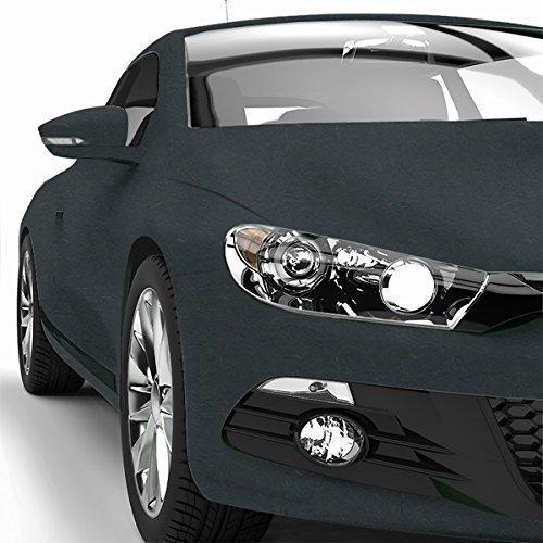 Car Wrapping folie mat - autofolie - bubbelvrij - 152cm - 970RA -093M-antraciet metallic 9 Meter