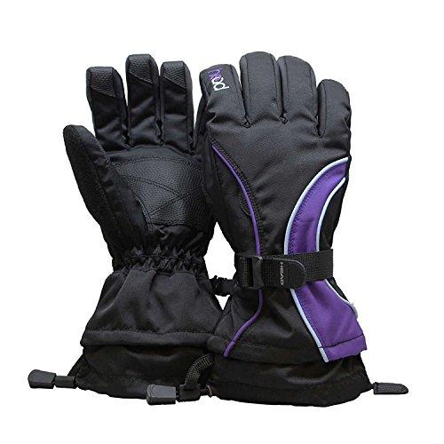 Head Junior Ski Glove (M, Purple)