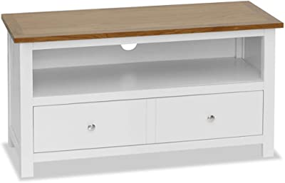 TV Stand Media Console Storage Cabinet Retro Media Entertainment Center with Drawer and Compartment for Living Room