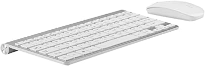 Snfgoij Wireless Keyboard Maus Set Notebook Desktop Office Home Externe Mini Portable Unentbehrliche Spiel Tastatur Schwarz White