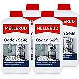 Mellerud Boden Seife Reiniger & Pflege 1L - Bildet einen schmutzabweisenden Film (4er Pack)