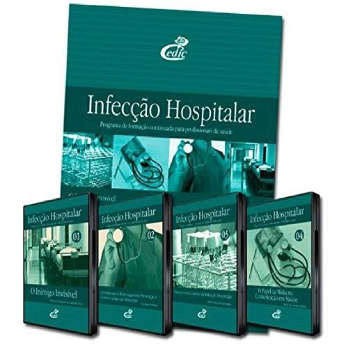 Coleção Infecção Hospitalar DVDs Livro