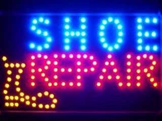 ADV PRO led136-b Shoe Repair Shop Led Neon Sign WhiteBoard