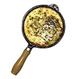 Cheese PROVOLETERA Melted cheese Enameled Iron cast Made in Argentina With Handle