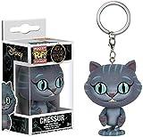 cheaaff ¡Gato de Cheshire x Pop! Alice's Adventure Multicolor PVC Figura Llavero Exquisito Coleccion...