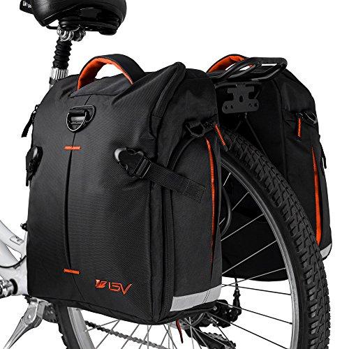 BV Bike Panniers Bags (Pair), Large Capacity 14