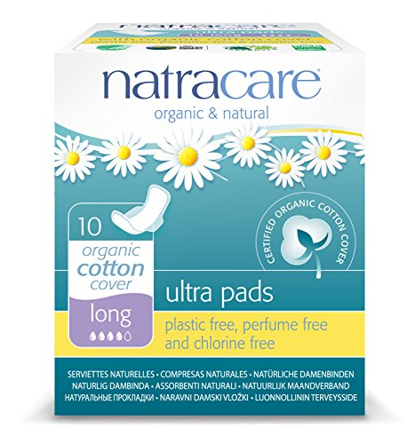 Natracare Pads Ultra Long & Wings - Pack 10 unidades
