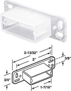 Flush Bolt with 1//8 in Offset in Aluminum Global Door Controls 10 in