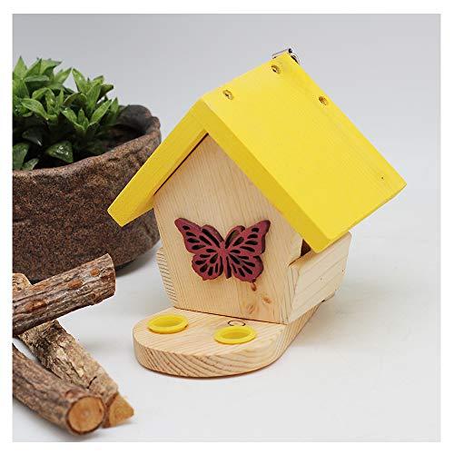 SUIBIAN Insectes Hôtel, Mini Papillon Habitat Shelter, créatif Cadeau d'insectes Haven, Science Décoration extérieure Observation Nature Education expérience