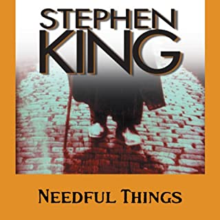 Needful Things     The Last Castle Rock Story              By:                                                                                                                                 Stephen King                               Narrated by:                                                                                                                                 Stephen King                      Length: 25 hrs and 11 mins     261 ratings     Overall 4.1
