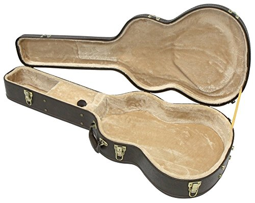 Gewa 523631 Gitarrenetui Konzertgitarre Arched Top Prestige Brown Edition