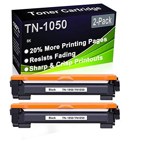 2 cartuchos de impresora compatibles con Brother HL-1112 HL-1210W HL-1212W HL-1212W DCP-1610W DCP-1610W DCP-1512 DCP-1610W DCP-1512 DCP-1612W DCP-1510 (negro).