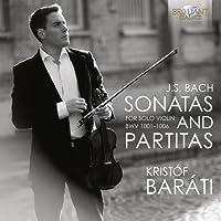 JS Bach: Sonatas & Partitas for Solo Violin by Kristof Barati (2013-04-11)